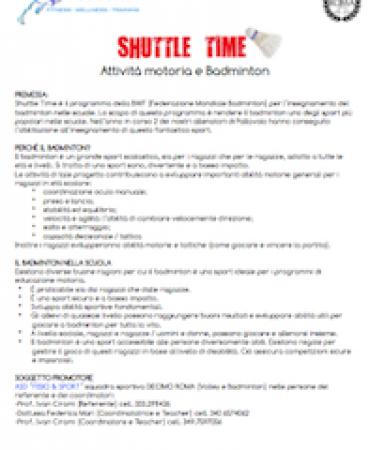 Shuttle Time - Badminton